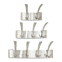 Safco Wall Mounted Metal Coat Racks