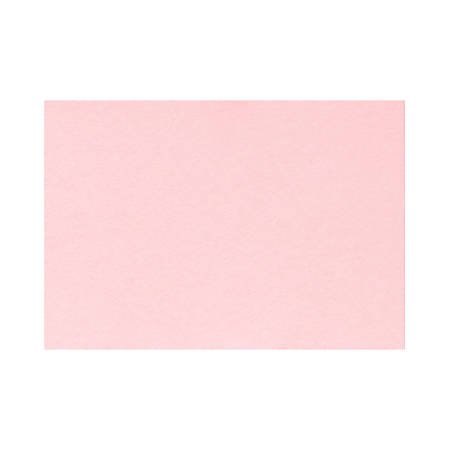 "LUX Flat Cards, A2, 4 1/4"" x 5 1/2"", Candy Pink, Pack Of 1,000"