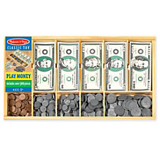 Melissa Doug Play Money Set Pre