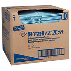WypAll X70 Foodservice Towels Blue Box