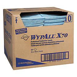 WypAll X70 Foodservice Towels White Box