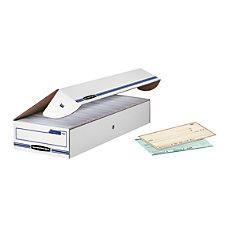 Bankers Box StorFile CheckDeposit Slip Storage