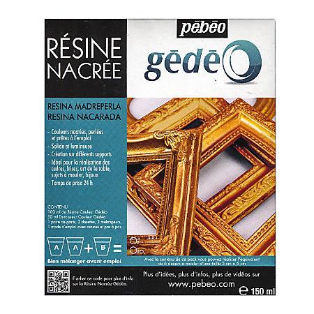 Pebeo Gedeo Pearl Resins, Gold, 150 Ml