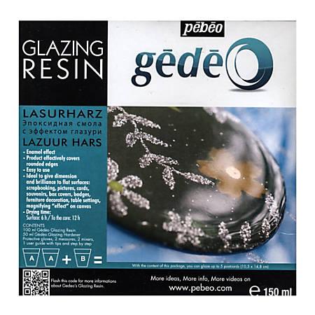 Pebeo Gedeo Glazing Resin, 150 mL