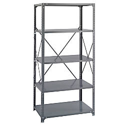 Safco 5 Shelf Commercial Steel Shelving