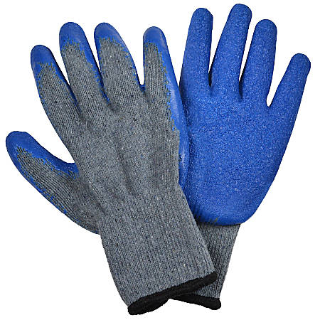 Cosco® Heavy-Duty Polyester Gloves, Men's, X-Large, Gray