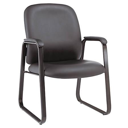 Alera Genaro High-Back Guest Chair, Black