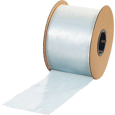 """Office Depot® Brand Flat 1-mil Poly Bags, 4"""" x 6"""", Clear, Roll Of 2,500"""