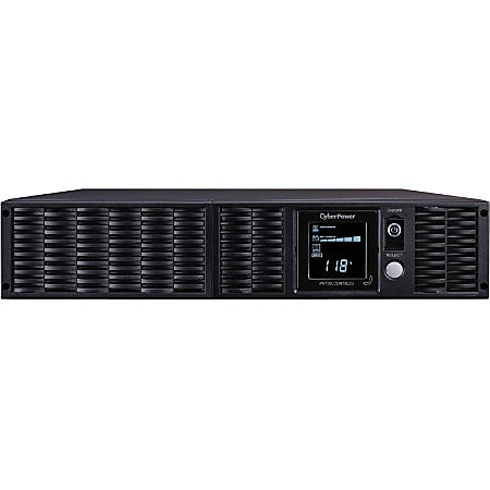 CyberPower Smart App Sinewave PR750LCDRTXL2U 750VA Pure Sine Wave 2U RT LCD UPS - Rack/Tower - 6 Hour Recharge - 13 Minute Stand-by - 120 V AC Input - 8 x NEMA 5-15R
