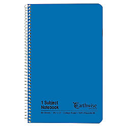 Esselte 100percent Recycled Wirebound Notebook College