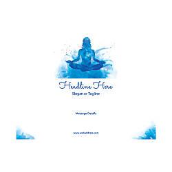 Custom Flyer Horizontal Meditation