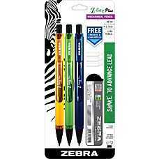 Zebra Z Grip Plus Mechanical Pencils