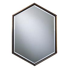 Holly Martin Whexis Hexagon Wall Mirror