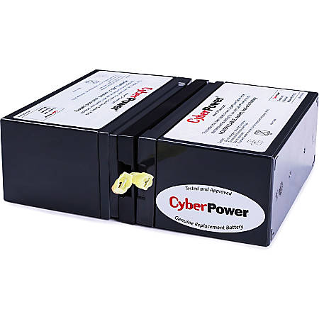 CyberPower RB1280X2D UPS Replacement Battery Cartridge 12V 8AH - 8000 mAh - 12 V DC - Sealed Lead Acid (SLA) - Spill-proof/Maintenance-free