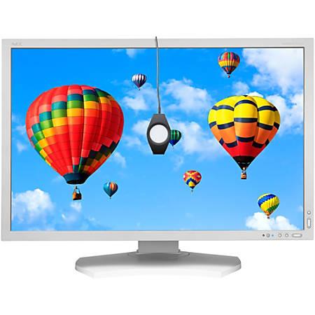"NEC Display MultiSync PA302W-SV 30"" WQXGA LED LCD Monitor - 16:10 - White - Advanced High Performance In-plane Switching (AH-IPS) Technology - 2560 x 1600 - 1.07 Billion Colors - 340 Nit - 6 ms - 85 Hz Refresh Rate - DVI - HDMI - DisplayPort"