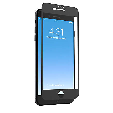 ZAGG® invisibleSHIELD® GlassPlus Luxe Screen Protector For Apple® iPhone® 7, Black
