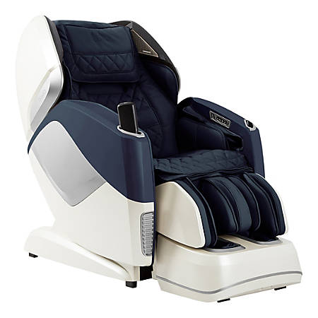 Osaki Pro Maestro 4-D Full-Body Massage Chair, Navy/Beige