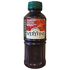 Veryfine Cranberry Juice Cocktail 10 Oz