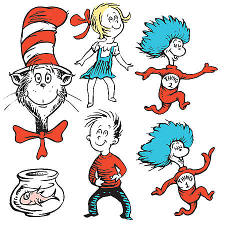 Eureka Dr. Seuss Bundle Decoration Kit, Pack Of 7