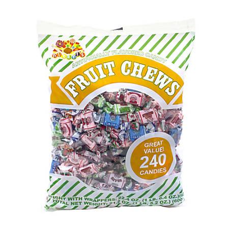 Albert's & Son Fruit Chews, Assorted Flavors, 1.5-Lb Bag