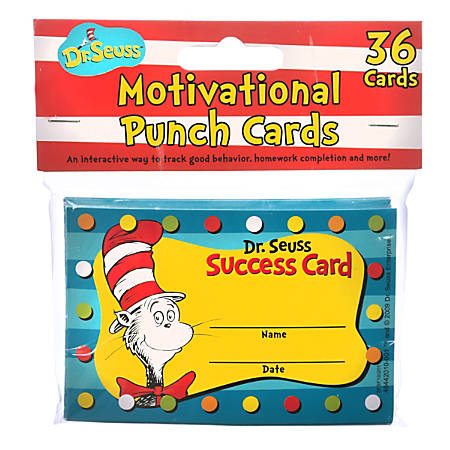 "Eureka Scratch-Off Rewards, Dr. Seuss, 4"" x 2 5/8"", Pack Of 36"