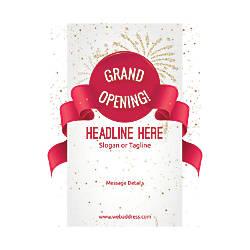 Custom Flyer Vertical Grand Opening