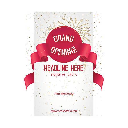 Custom Flyer, Vertical, Grand Opening