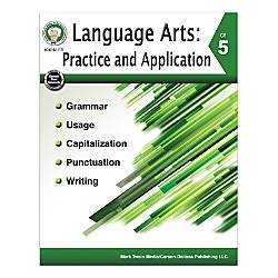 Mark Twain Media Language Arts Practice