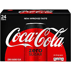 Coca Cola Zero Sugar 12 Oz