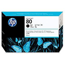 HP 80 Black Ink Cartridge C4871A