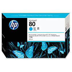 HP 80 Cyan Ink Cartridge C4846A