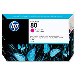 HP 80 Magenta Ink Cartridge C4847A