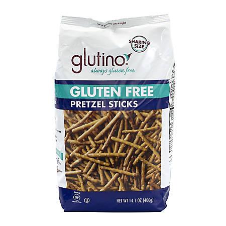 Glutino Gluten-Free Pretzels, Sticks, 14.1 Oz, Pack Of 2 Bags