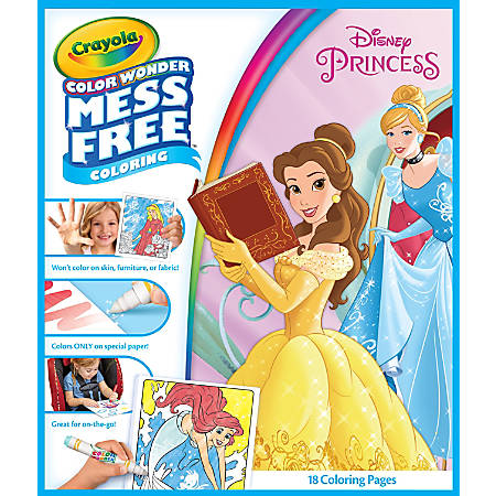 Crayola® Color Wonder™ Markers And Activity Book, Disney® Princess