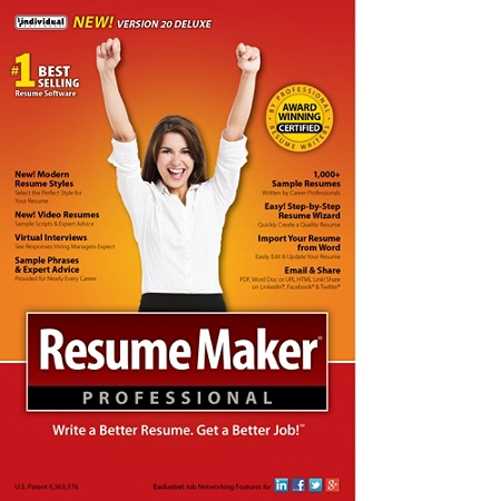 Resume Maker Proffesional.Resumemaker Professional Deluxe 20 Download Version Item 888191