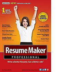 ResumeMaker Professional Deluxe 20 Download Version