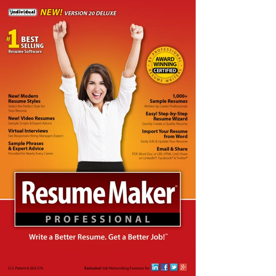 Resumemaker Resumemaker Professional Deluxe 20 Download Versionoffice .