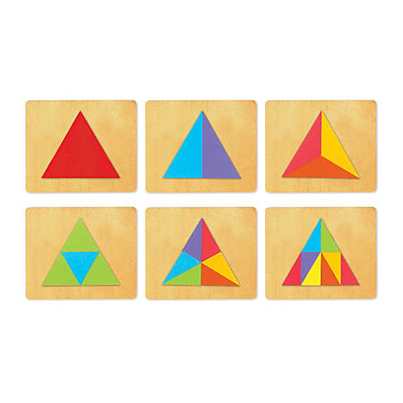 Ellison® SureCut™ Dies, Fraction Triangles, Pack Of 6
