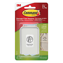 Command Jumbo Canvas Picture Hanger 2