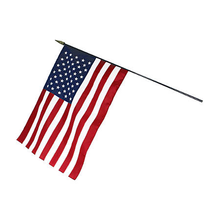 "Annin & Company U.S. Classroom Flag, 16"" x 24"", Multicolor"