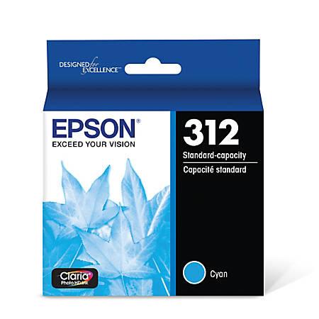 Epson® Claria Photo Hi-Definition T312220-S Cyan Ink Cartridge
