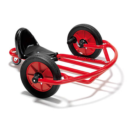 """Winther Swingcart, Ages 3-8, 28 1/4""""H x 11 5/16""""W x 27 3/8""""D, Red"""