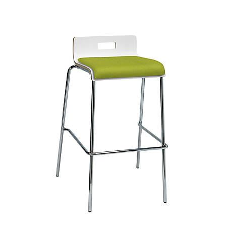Surprising Kfi Studios Jive Low Back Bar Stool Avocado White Item 8884298 Machost Co Dining Chair Design Ideas Machostcouk
