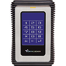 DataLocker DL3 500GB External Hard Drive
