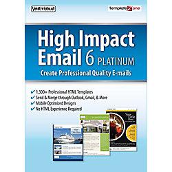 High Impact Email 6 Platinum