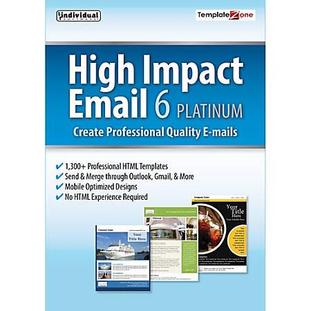 High Impact Email 6 Platinum, Download Version