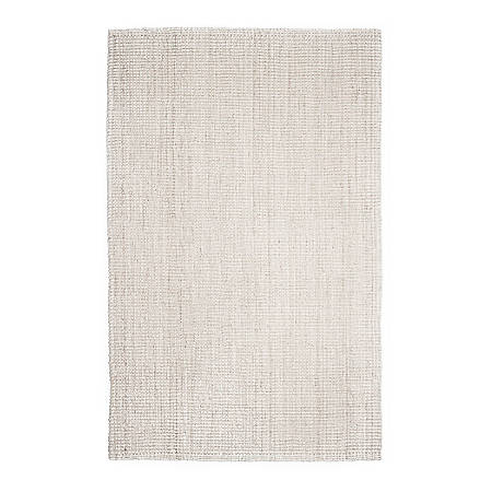 Anji Mountain Andes Jute Rug, 4' x 6', Ivory