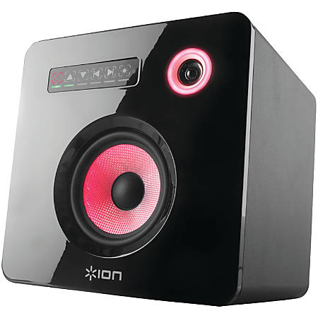ION Flash Cube Speaker System - 50 W RMS - Wireless Speaker(s)