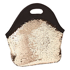 Office Depot Brand Sequined Lunch Tote