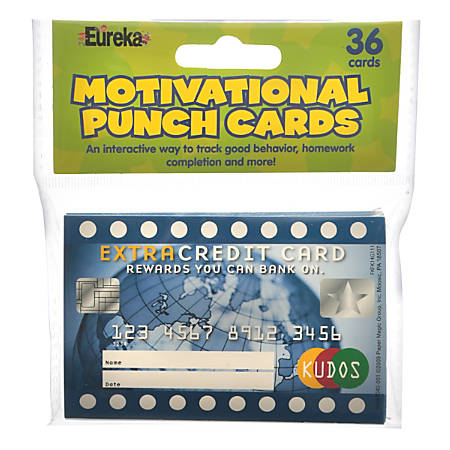 "Eureka Scratch-Off Rewards, Extra Credit, 4"" x 2 5/8"", Pack Of 36"